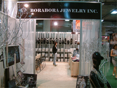 BoraBora Jewelry Jck2010, Booth Front View
