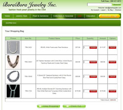 wholesale pearl jewelry order