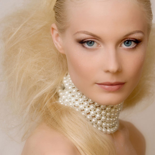 48 Inch Freshwater Pearl Necklace by IPEARL with Diamond-Shaped White Pearl, Mother-of-Pearl and Crystal (TRN-3077-P1)
