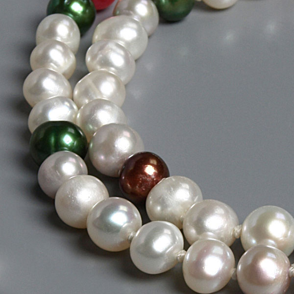 64 Inch Freshwater Pearl Necklace by IPEARL with 6-7mm Round Pearls (TRN-2856)